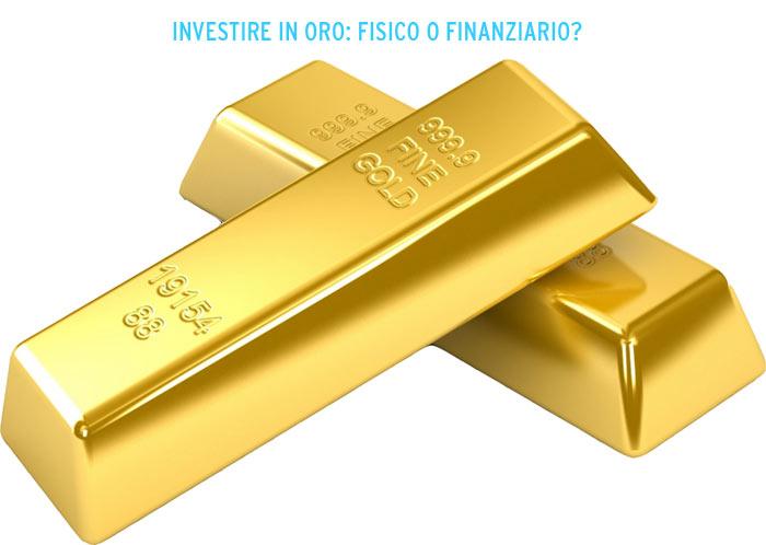 investire in oro online