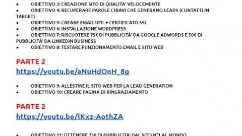 Corso Network Marketing